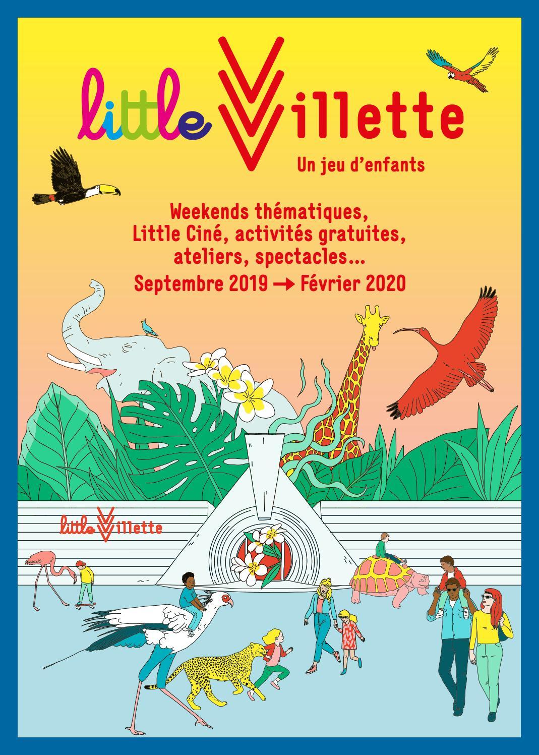 09.19-02.20 • Weekends Thématiques, Little Ciné, Activités à Jeux De Billes Gratuits