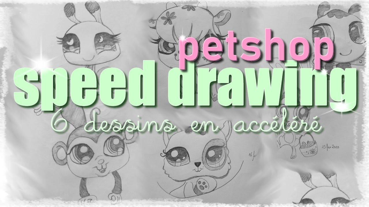 #1 Speed Drawing - Petshop Dessin destiné Dessin De Petshop