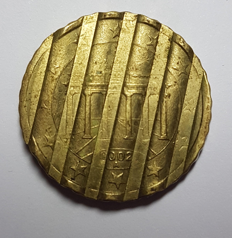 10 Cent Euro Allemagne 2002 A Etoiles Tournantes pour Fausses Pieces Euros
