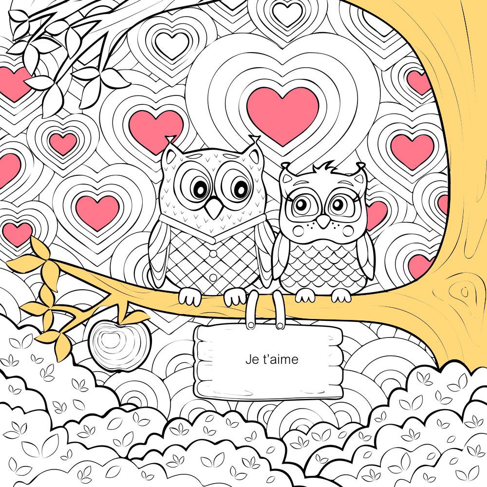 10 Coloriages De Coeurs Pour La Saint-Valentin avec Dessin Pour La Saint Valentin