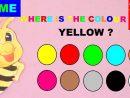 10 Couleurs En Anglais Pour Les Petits : Jeu Intuitif En Maternelle encequiconcerne Jeux Educatif Gs