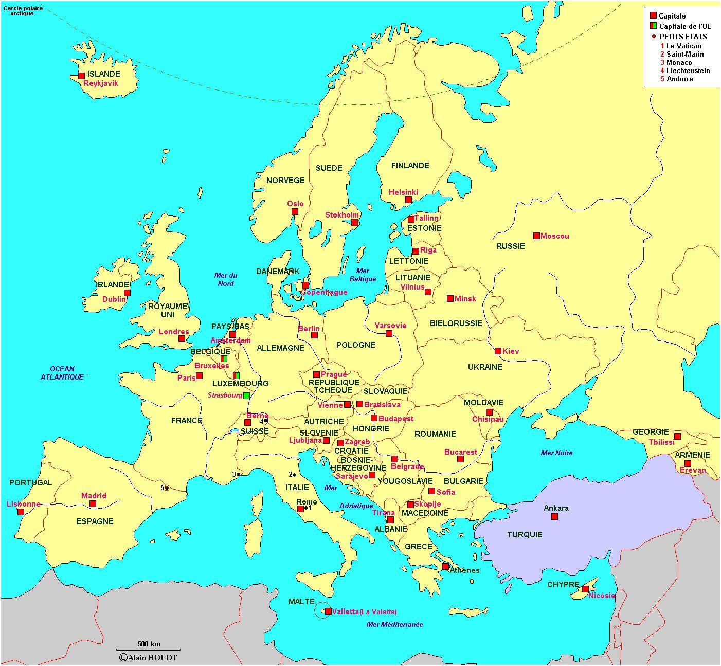 10 Excellent Carte Des Etats Unis Avec Les Capitales Images tout Carte Du Monde Avec Capitale