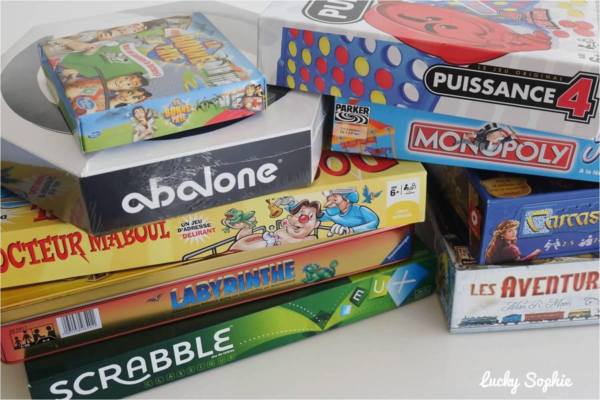 10 Jeux De Société Famille Incontournables - Lucky Sophie pour Jeu De Société Puissance 4