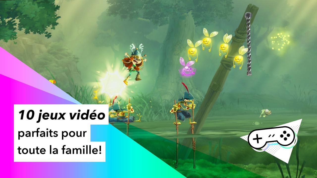 10 Jeux Vidéo Parfaits Pour Toute La Famille | Pèse Sur Start serapportantà Jeux Flash Enfant