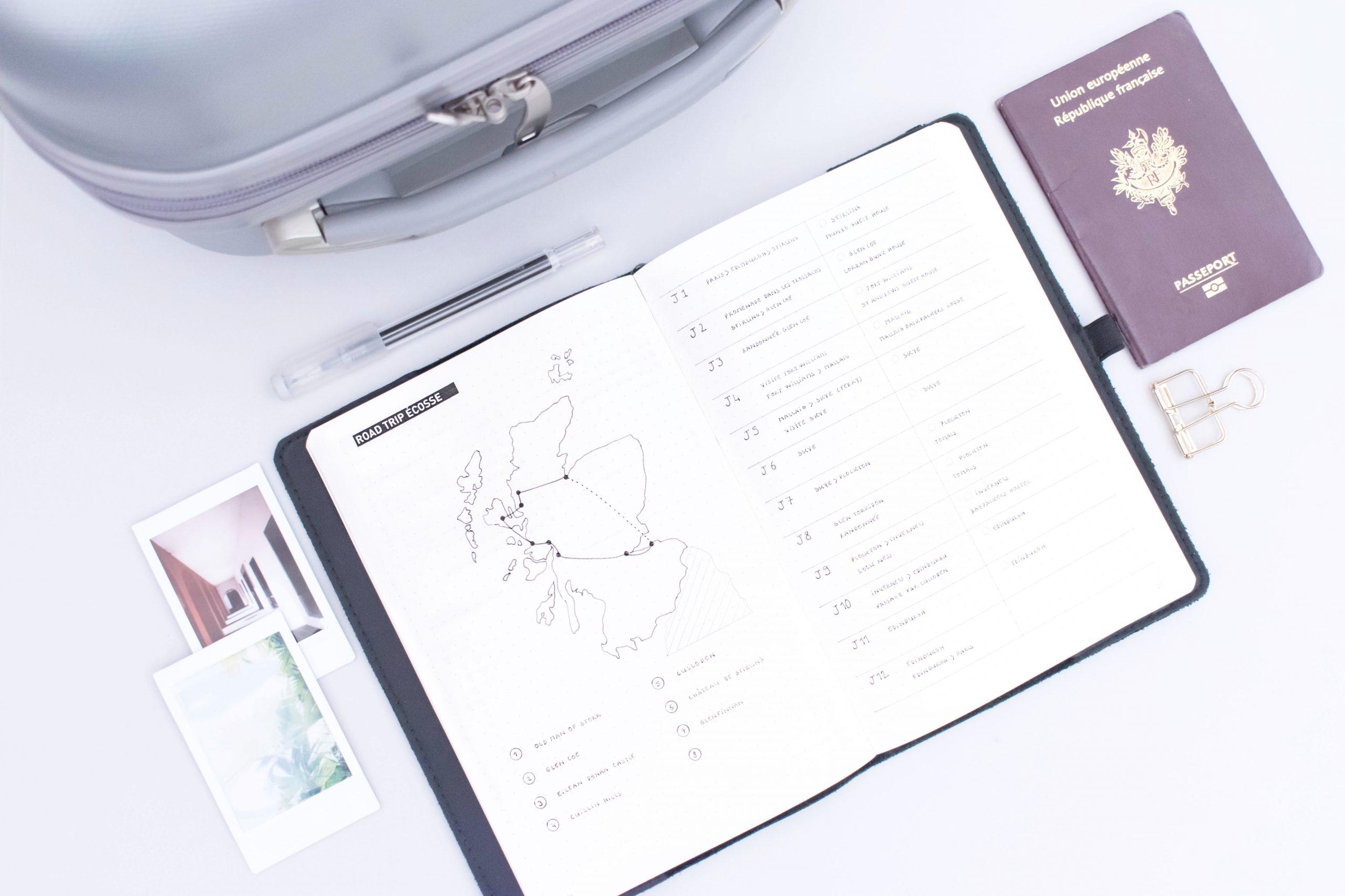 10 Modèles De Pages Pour Utiliser Son Bullet Journal En intérieur Journal De Vacances A Imprimer