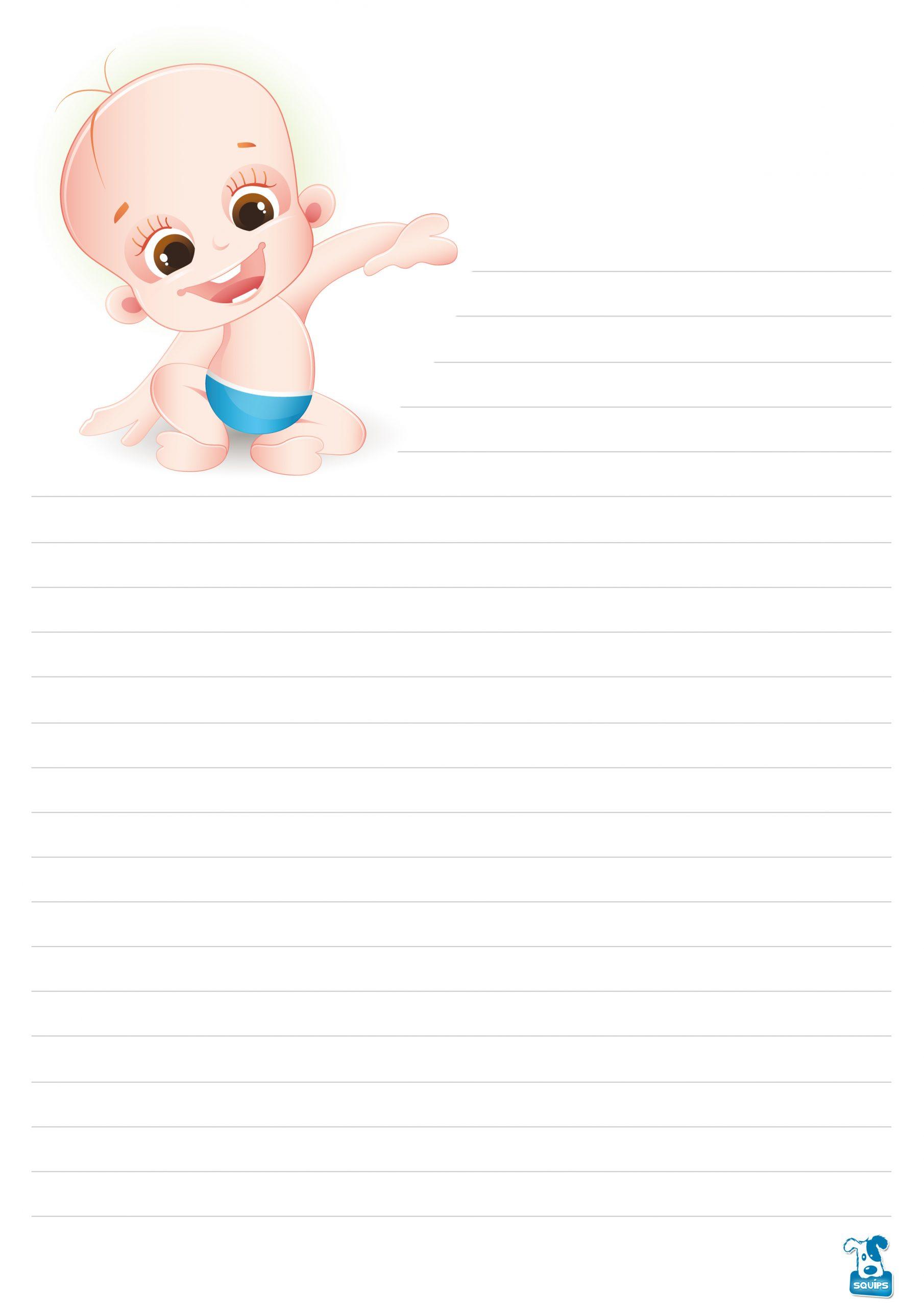 10 Papiers À Lettre À Imprimer Pour Enfants | 123Cartes tout Papier A Lettre Enfant