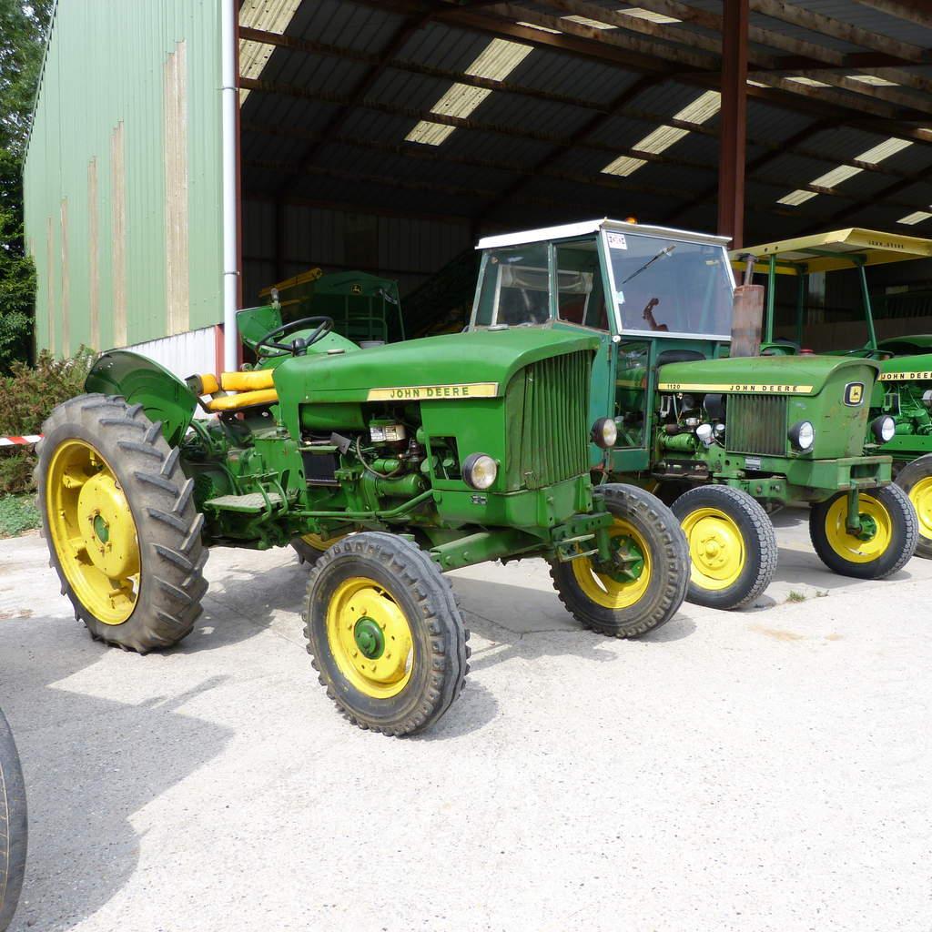100 Ans Au Compteur Pour Les Tracteurs John Deere - Le Blog destiné Image Tracteur John Deere