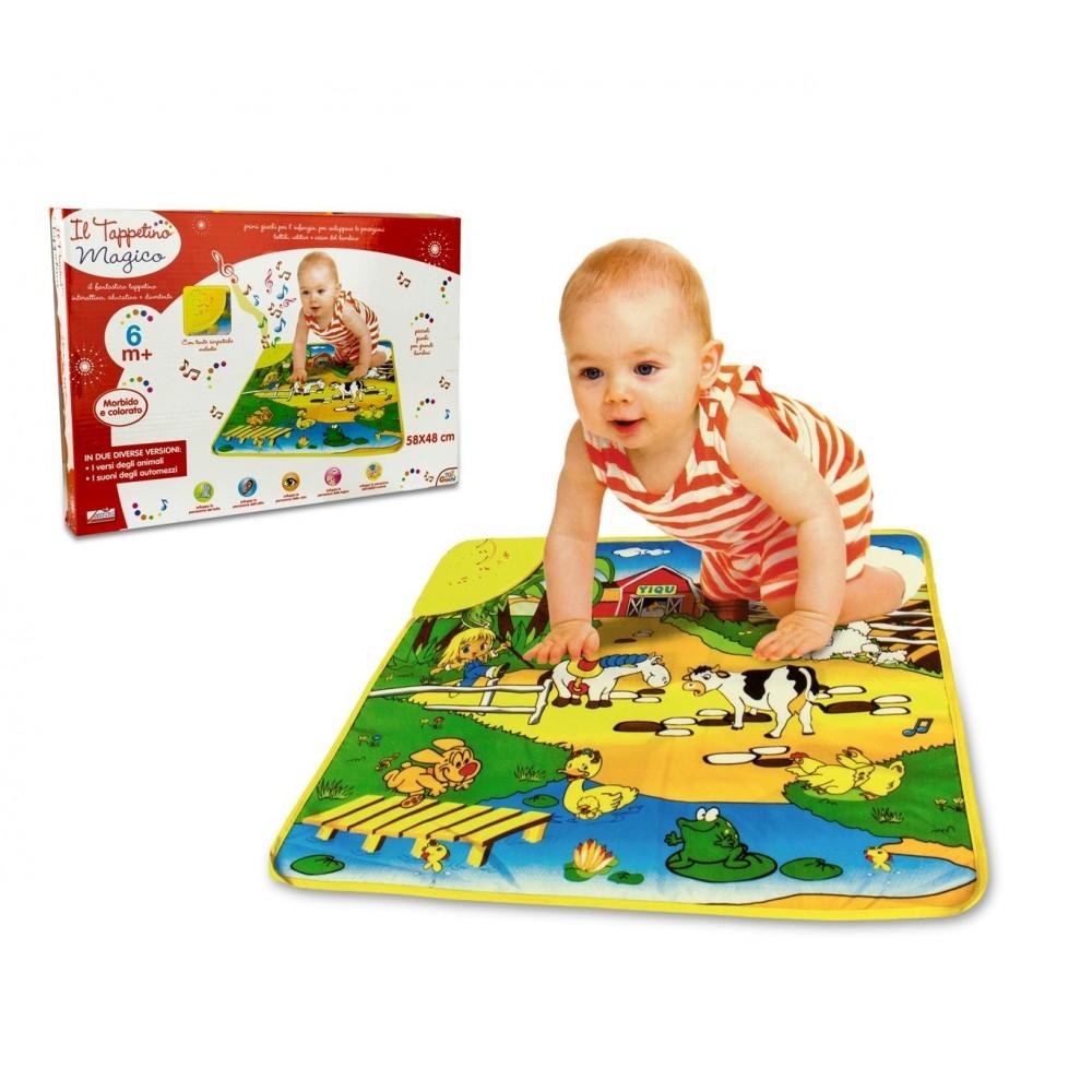 102194 Tapis Musical Jeu Interactif Pour Enfant Avec Mélodies Et Sons dedans Jeu Interactif Enfant