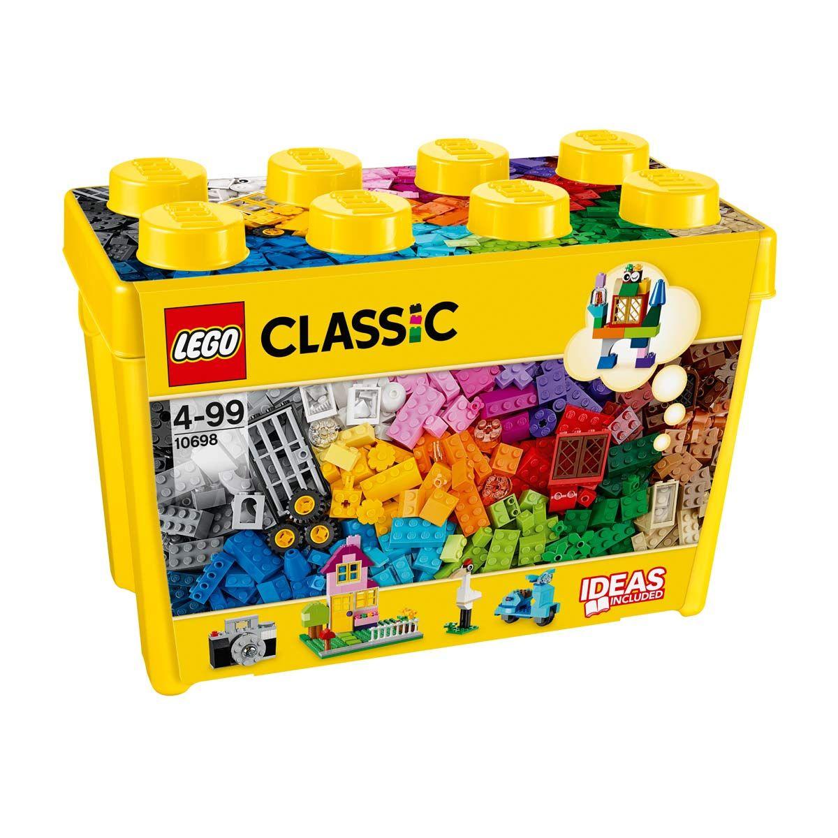 10698 Boîte De Briques Créatives Deluxe Lego Classic Lego destiné Casse Brique Enfant