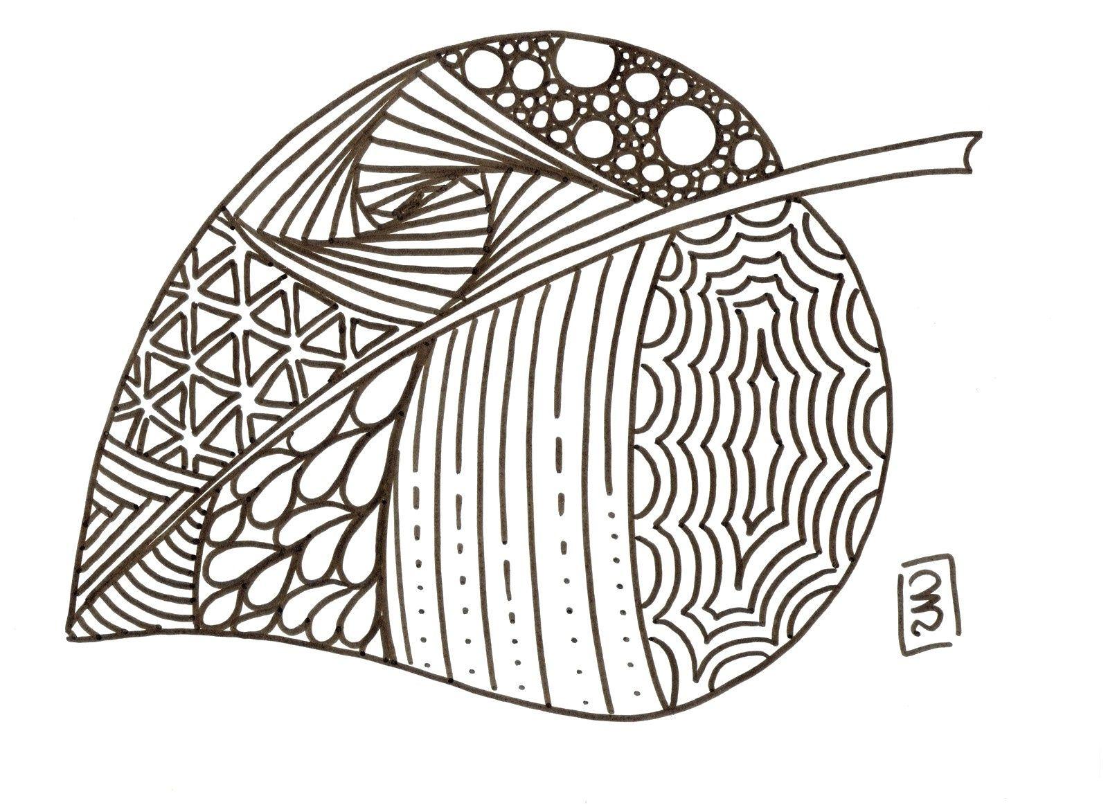 11 Calme Coloriage Feuilles Photos | Coloriage, Coloriage intérieur Feuille Lignée A Imprimer
