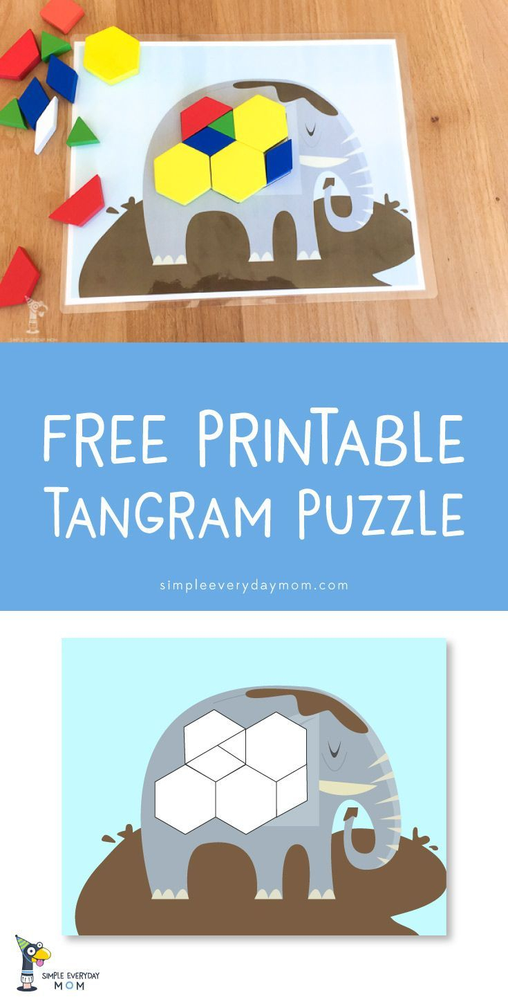 11 Tangram Printables That'll Make Your Kids Excited About à Tangram Enfant