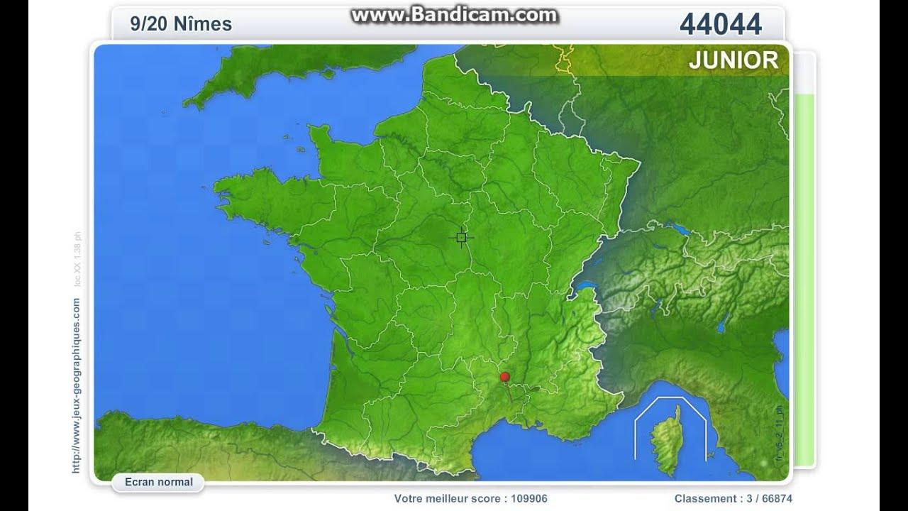 110013 Villes De France Junior serapportantà Jeux Geographique