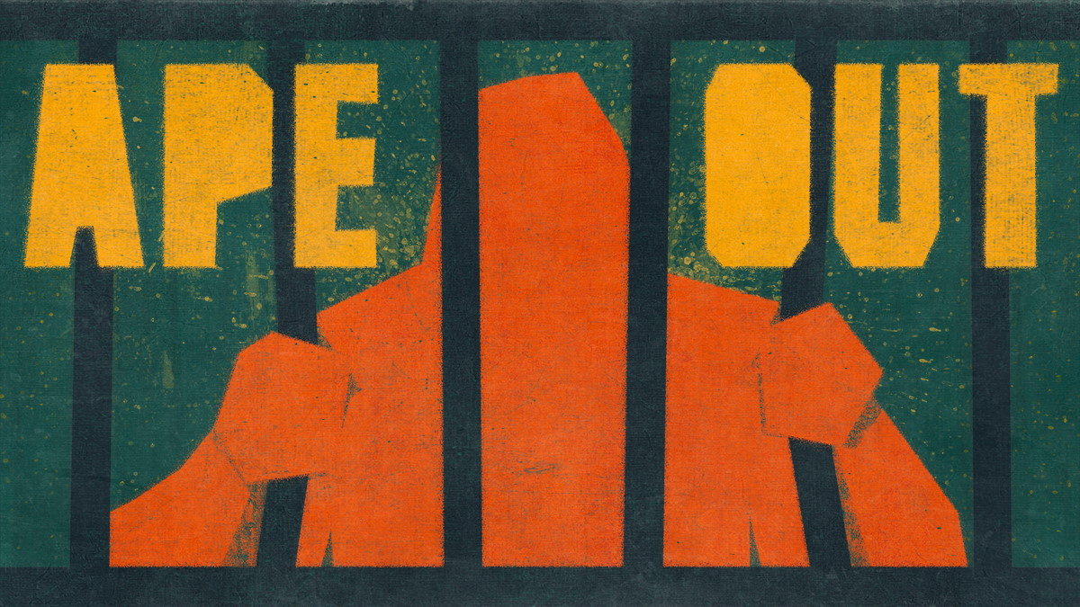 12 Jours De Jeux Gratuits Avec L'epic Games Store : Ape Out destiné Jeux De Gorille Gratuit