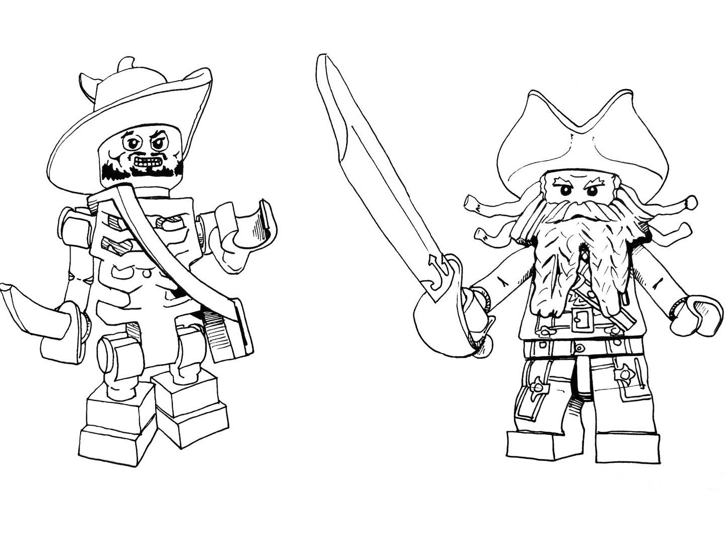 127 Dessins De Coloriage Pirates Des Caraïbes À Imprimer concernant Dessin A Imprimer De Pirate