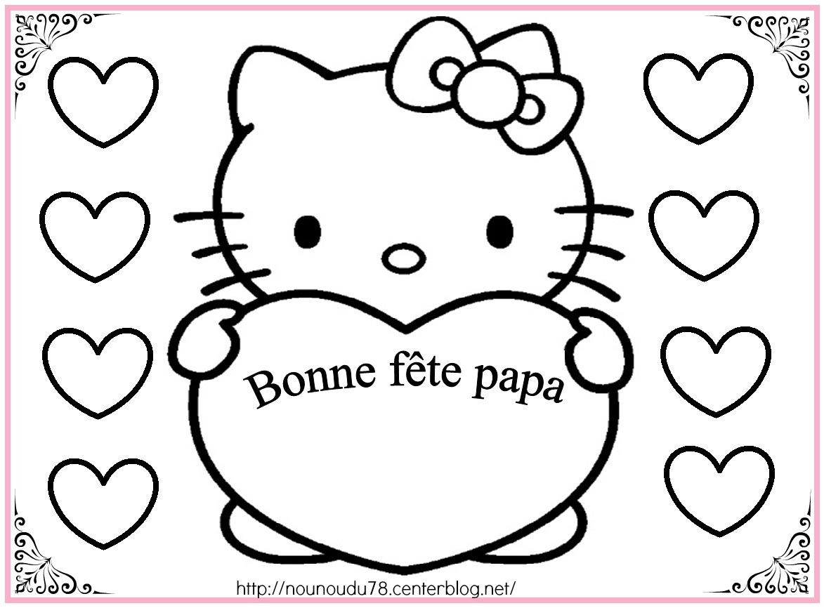 143 Dessins De Coloriage Hello Kitty À Imprimer tout Hello Kitty À Dessiner