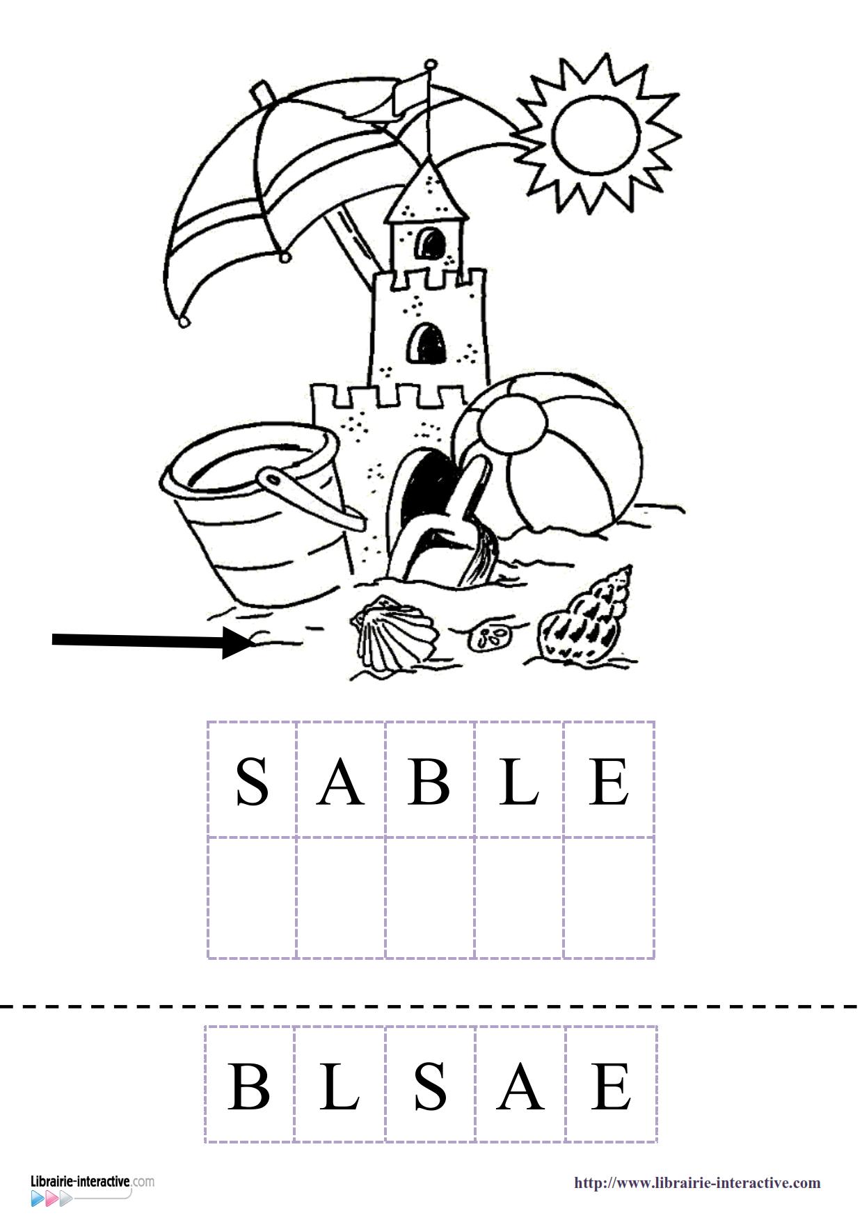15 Fiches Pour La Maternelle (Ps, Ms Gs) Pour Découvrir pour Cahier De Vacances Moyenne Section A Imprimer