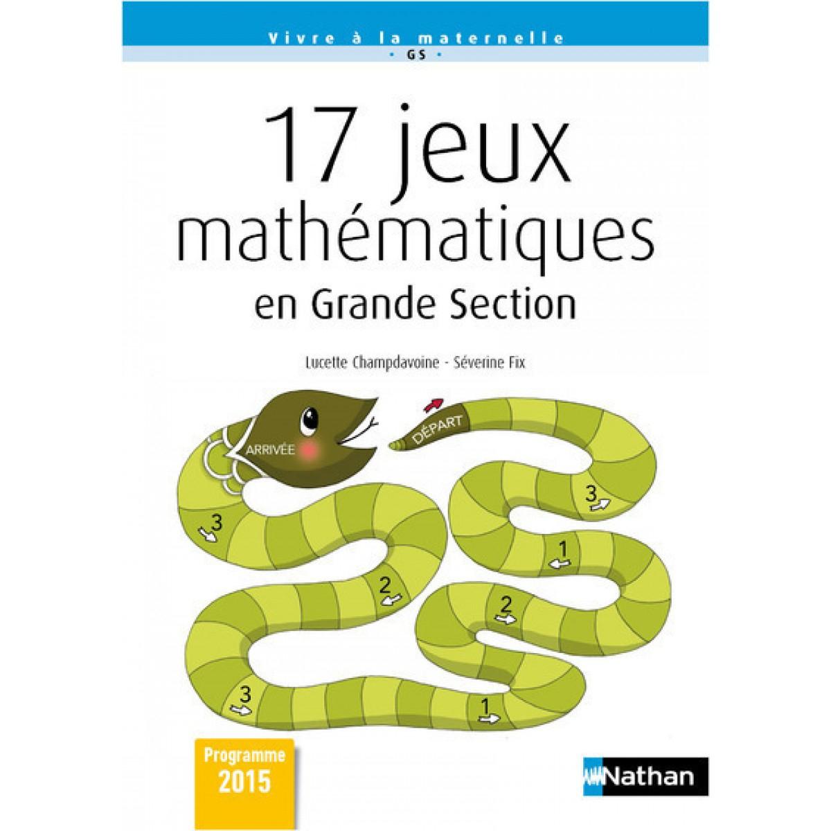 17 Jeux Mathematiques En Grande Section destiné Jeux Maternelle Grande Section