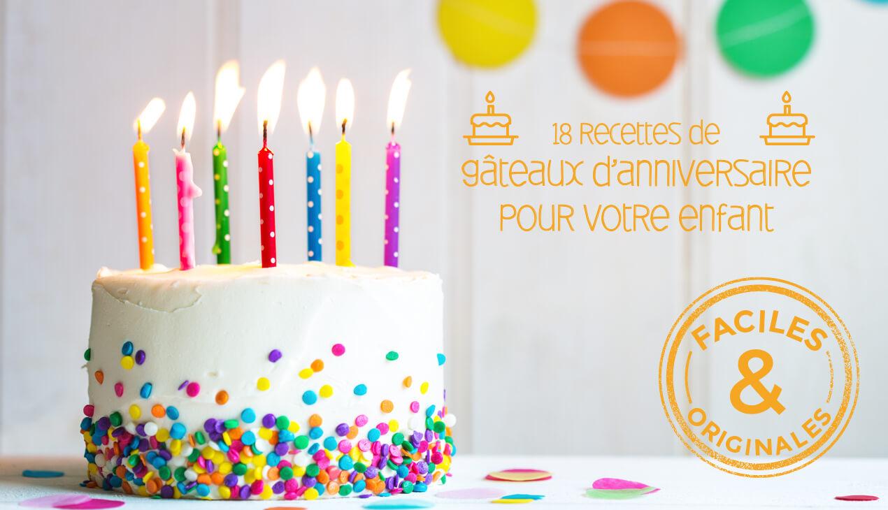 18 Recettes De Gâteaux D'anniversaire Pour Enfant | Croquons serapportantà Jeux Gratuit Facile Pour Garcon