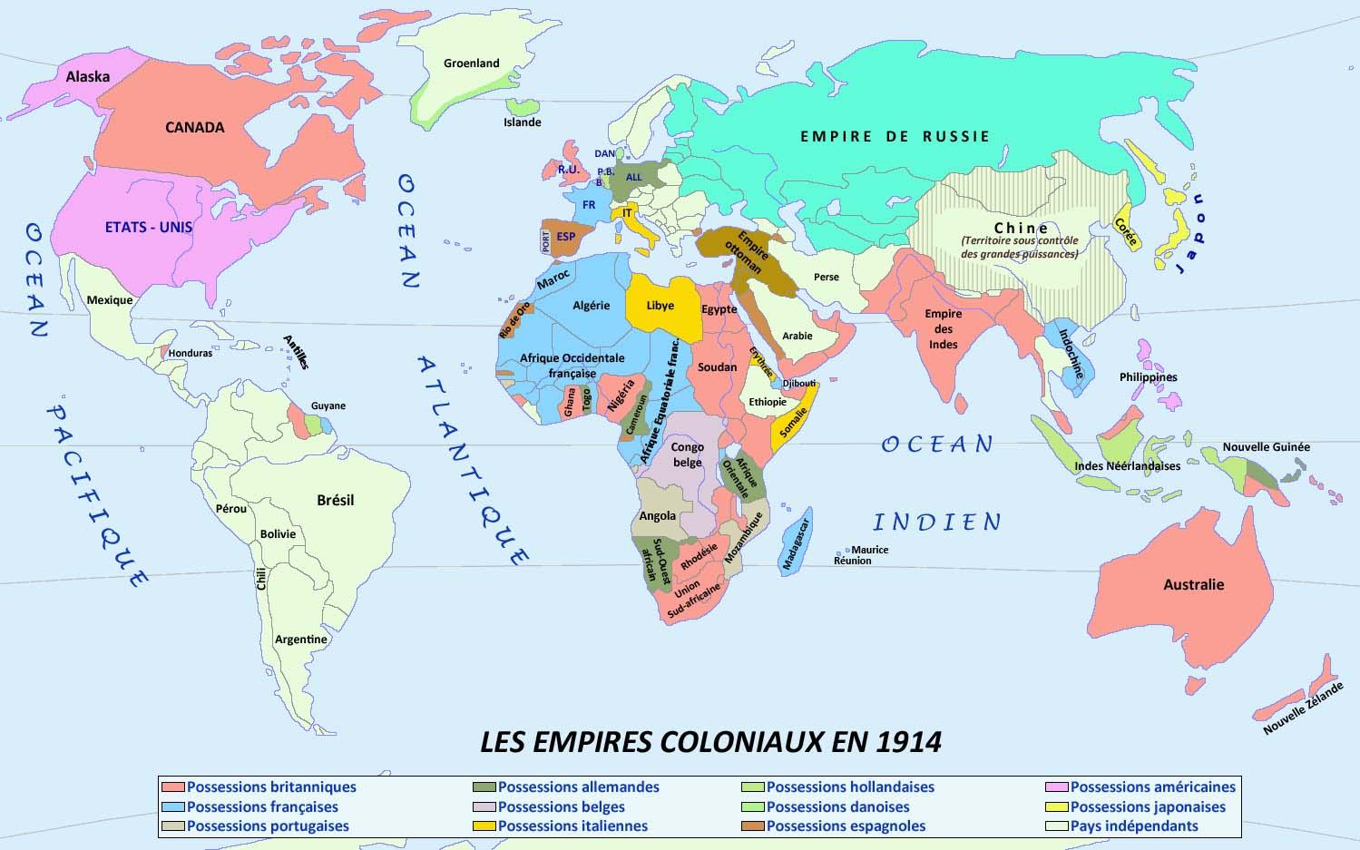 1900 : L'europe Domine Le Monde dedans Carte Europe De L Est