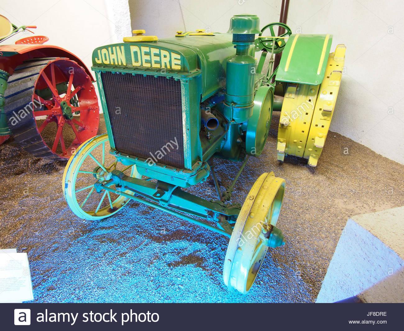 1929 Tracteur John Deere, Musée Maurice Dufresne Photo 2 à Image Tracteur John Deere