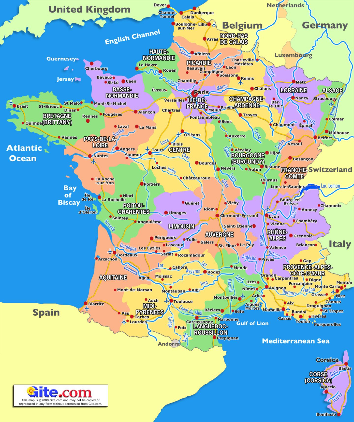 19Bd Carte France Region | Wiring Resources concernant Carte De La France Région