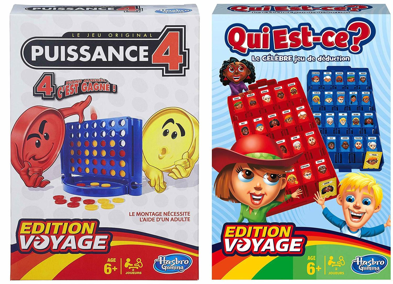2 Jeux Edition Voyage : Puissance 4 Et Qui Est-Ce ? pour Jeux Du Puissance 4
