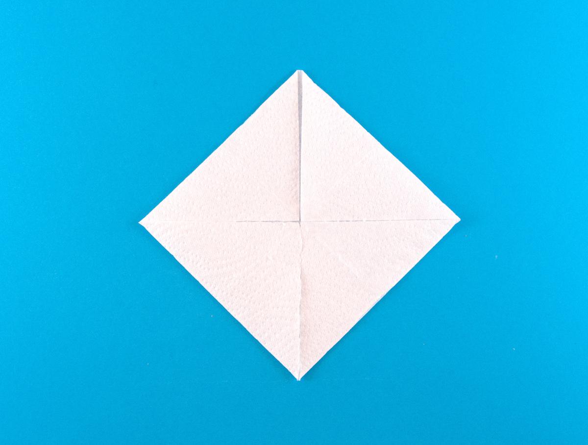 2 Pliages De Serviette En Papier Faciles - Okay encequiconcerne Pliage Papier Enfant
