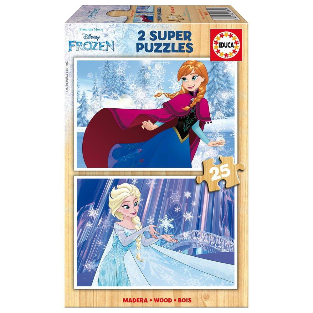 2 Puzzles 25 Pieces La Reine Des Neiges tout Jouer Aux Puzzles Gratuitement