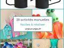 20 Activités Manuelles Faciles À Réaliser Pour Enfants En à Activité Manuel Pour Enfant