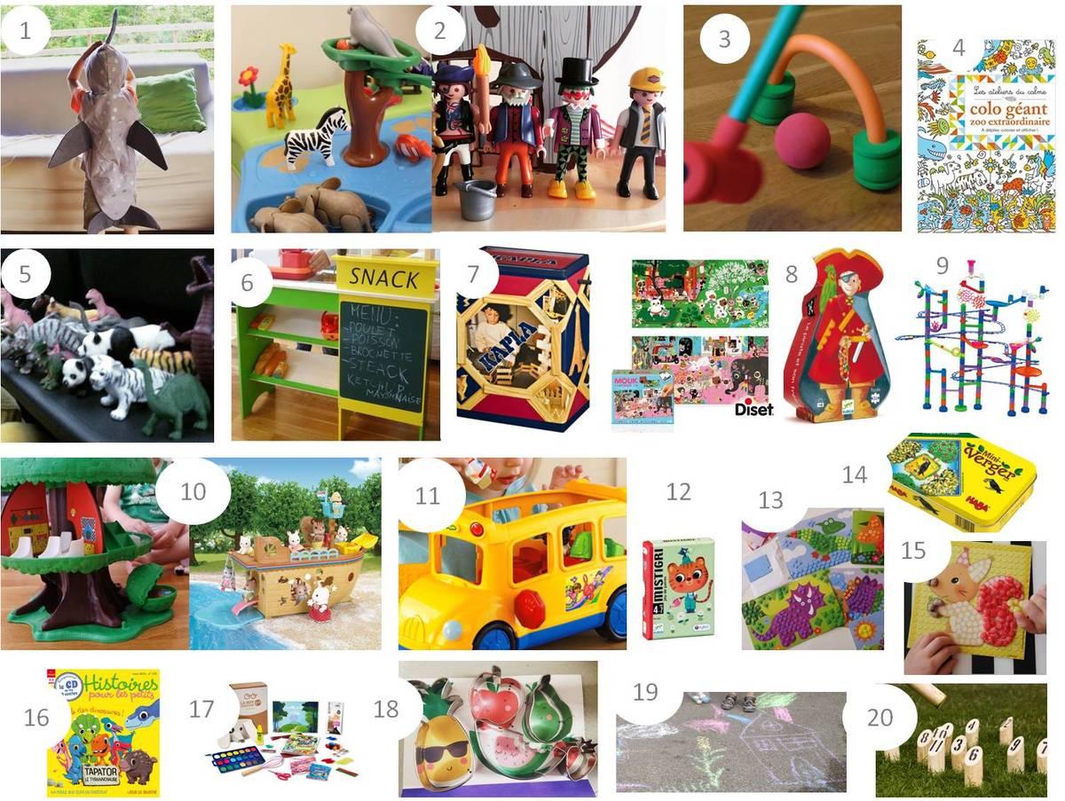 20 Idées Cadeaux Pour Enfant De 3 - 4 Ans - Lucky Sophie à Jeux Pour Petit De 4 Ans