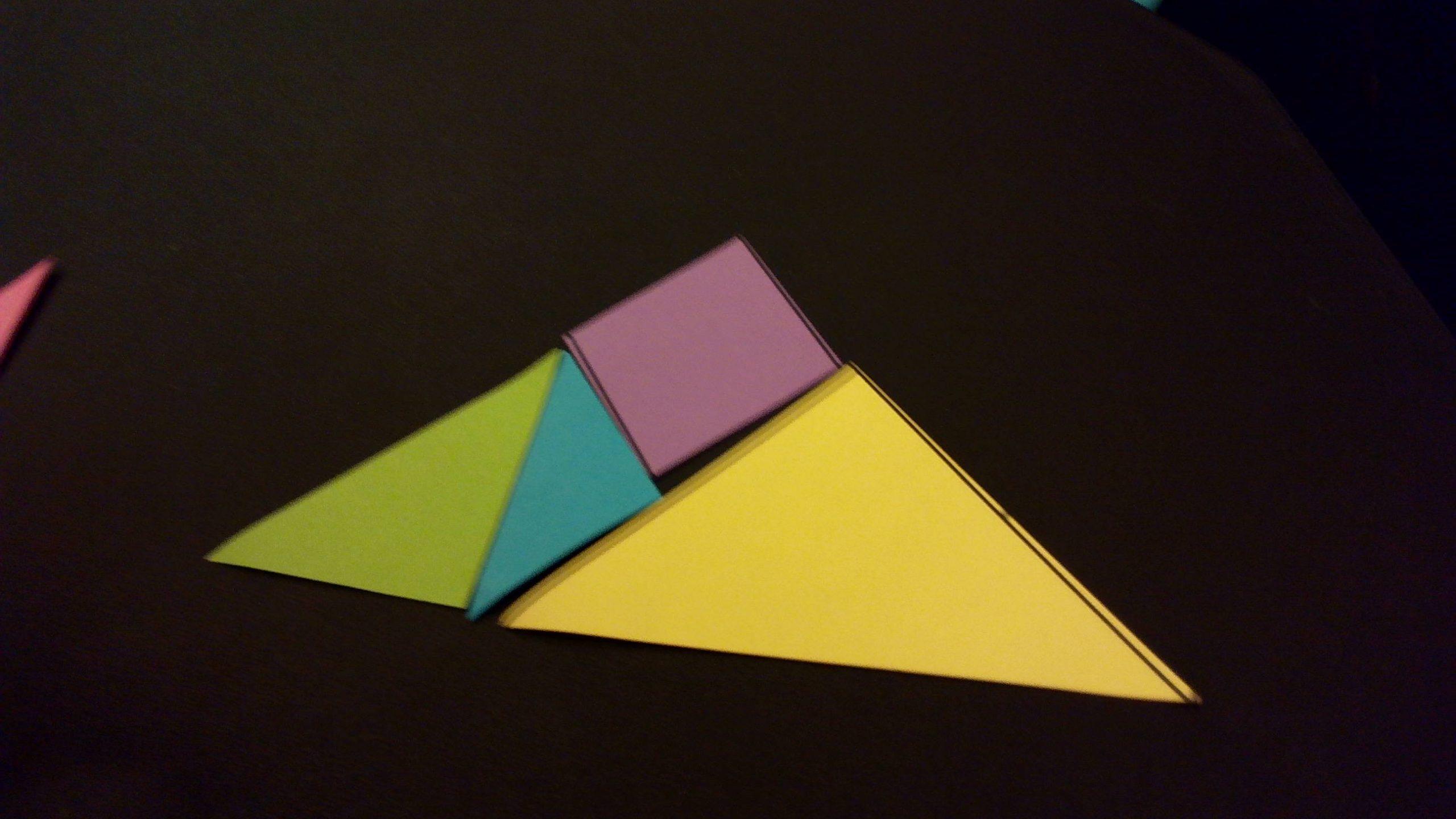 2015] Christine Yang: Tangram Triangles: Chinese, En pour Pièces Tangram