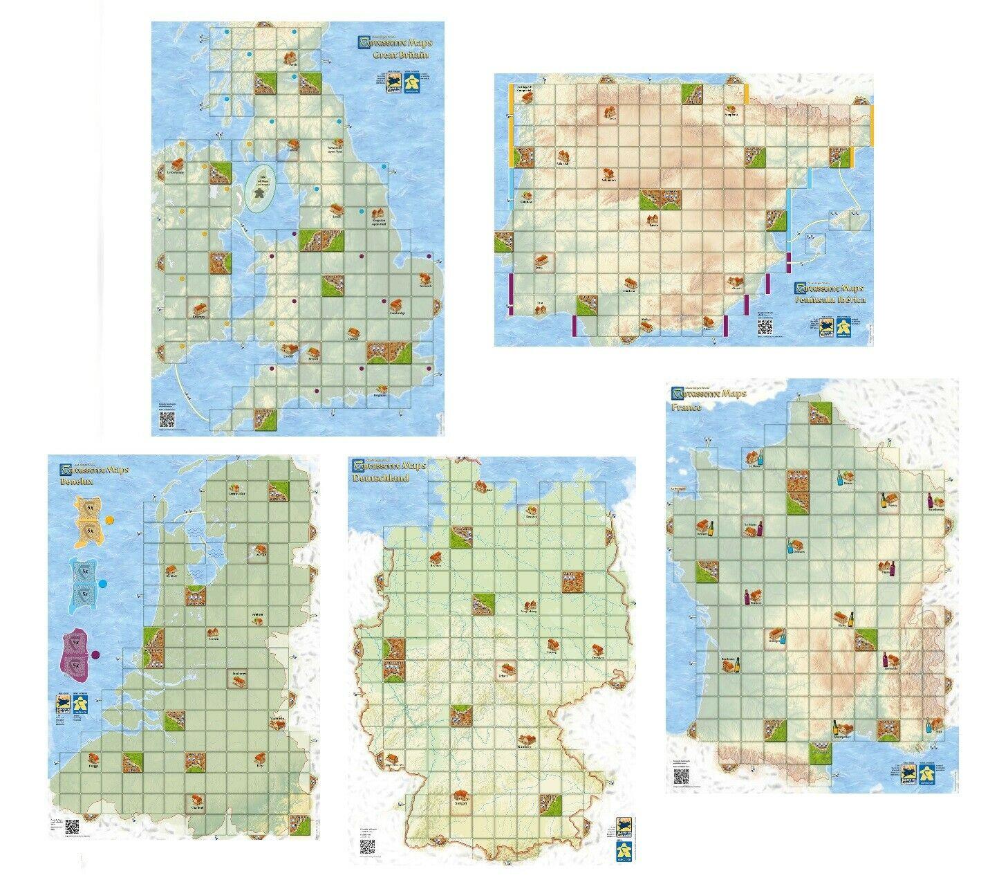 2019 Nouveau Carcassonne Cartes: France-Bretagne Péninsule concernant Jeu Carte De France