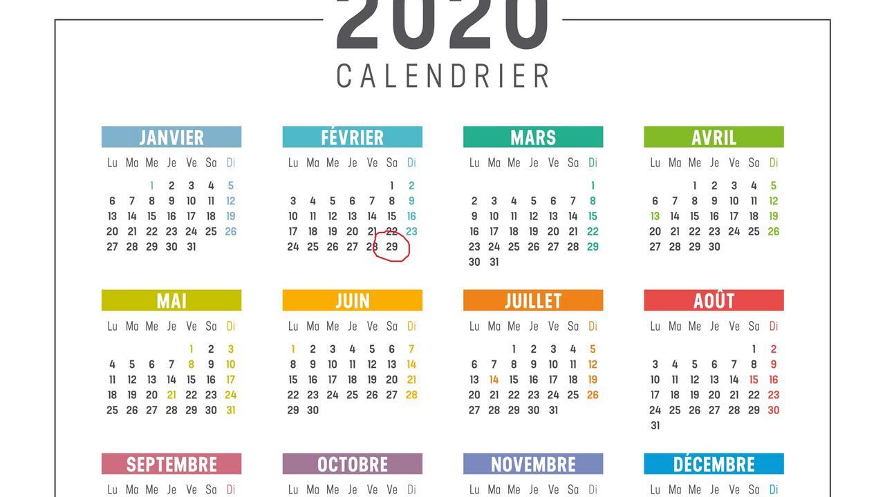 2020, Année Bistile : Est-On Payé Un Jour De Plus Lorsqu à Jeux Pour Apprendre Les Mois De L Année