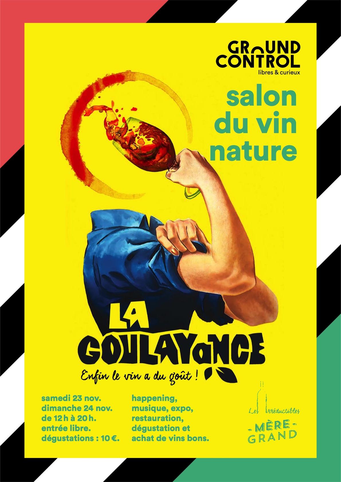 23-24 November Paris 2019 - La Goulayance - Winefair serapportantà La Taupe Musique
