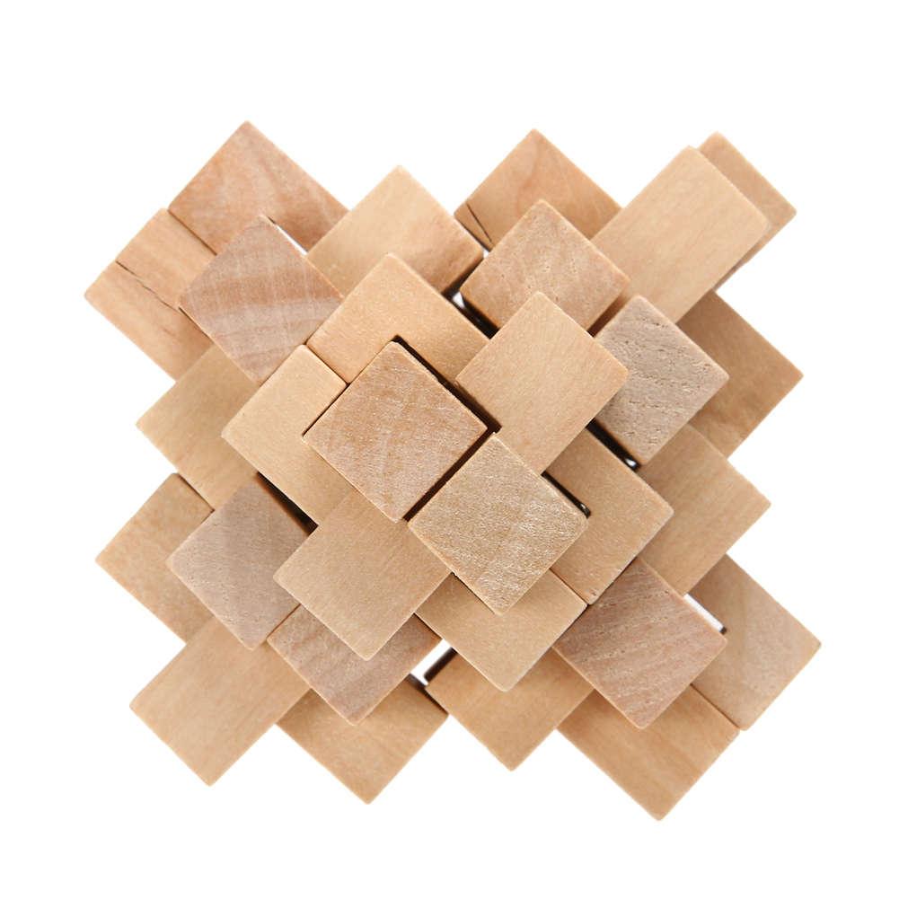 24Pcs Kongming Luban Verrouillage Enfants Adultes En Bois Chinois  Traditionnel Puzzle Jeu Brain Teaser Intellectuelle Jouet Pour Les Enfants destiné Puzzle En Ligne Enfant