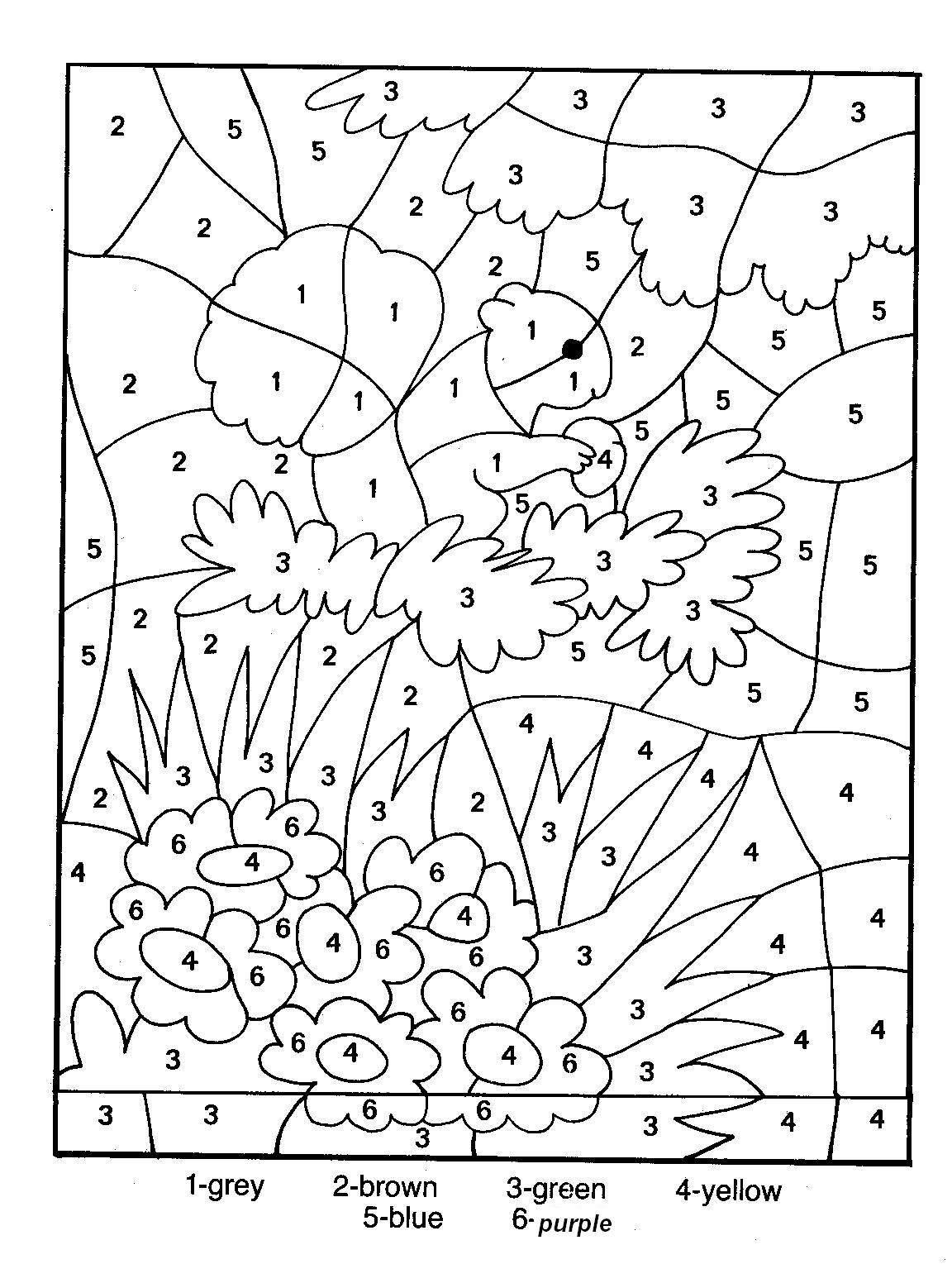 25 Dessins De Coloriage Magique Gs À Imprimer dedans Coloriage Codé Moyenne Section
