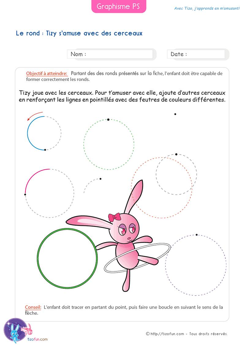 26 Fiches Graphisme Petite Section Maternelle destiné Fiche Graphisme Ms
