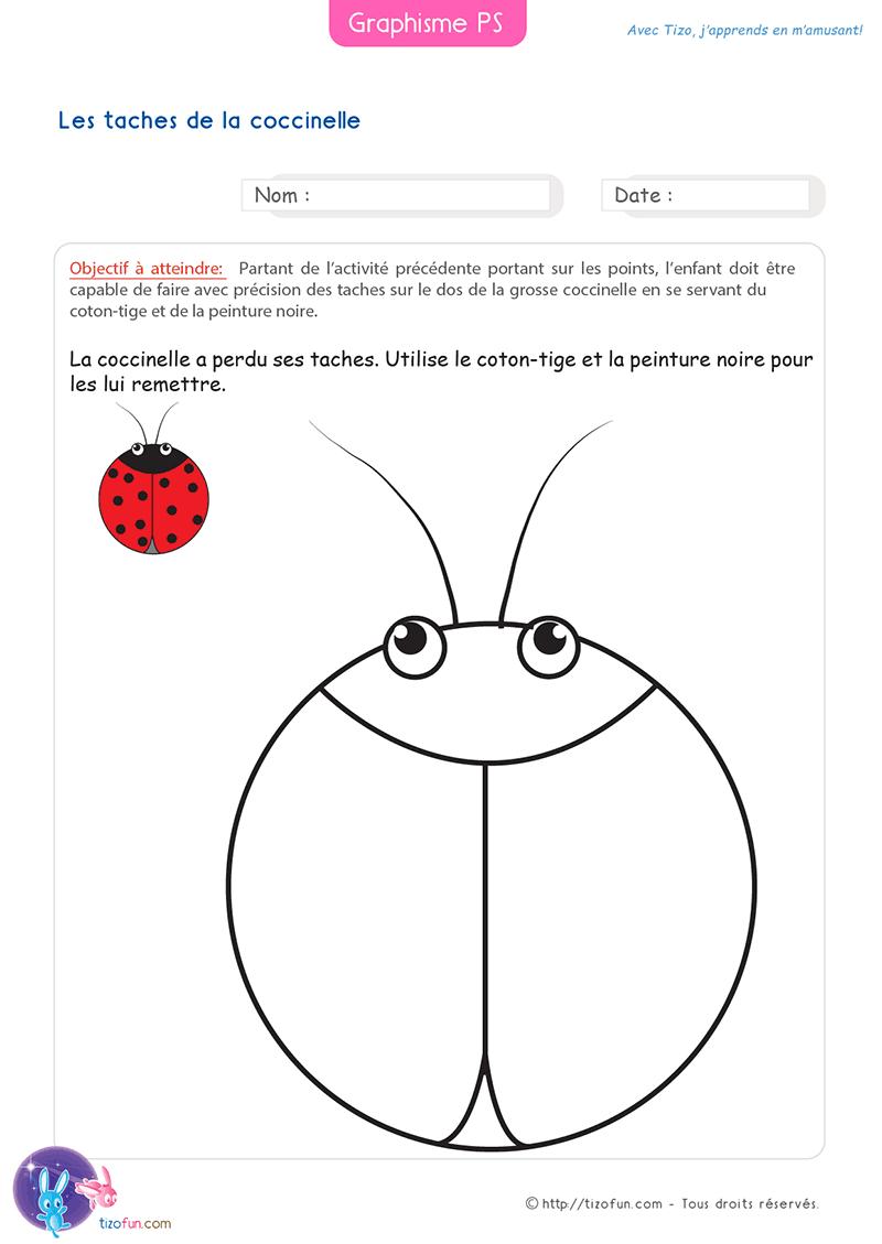 26 Fiches Graphisme Petite Section Maternelle intérieur Exercice Petite Section En Ligne