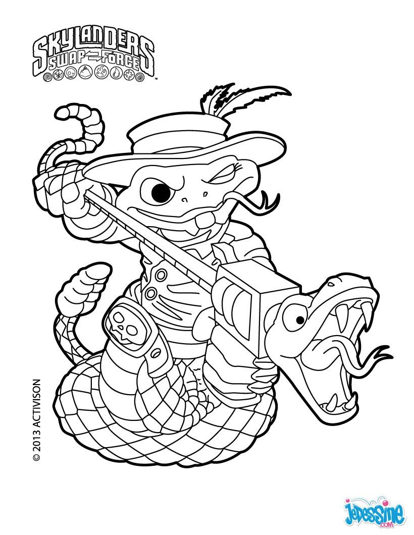 27 Dessins De Coloriage Skylanders À Imprimer concernant Dessin De Skylanders