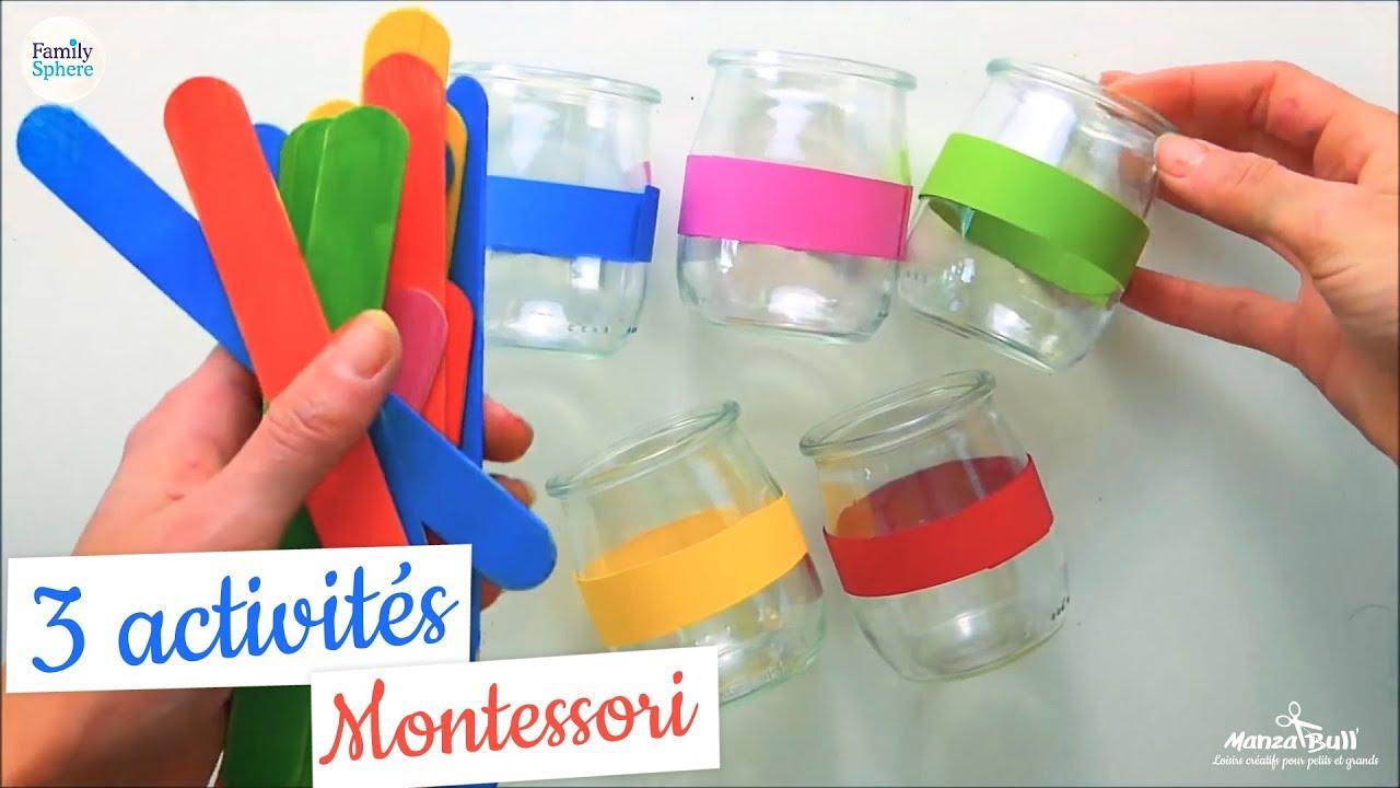 3 Activités Montessori- Familysphère dedans Activité Montessori 3 Ans