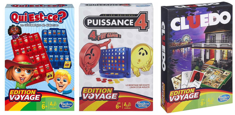 3 Jeux Edition Voyage : Cluedo, Puissance 4 Et Qui Est-Ce ? pour Jeux Du Puissance 4