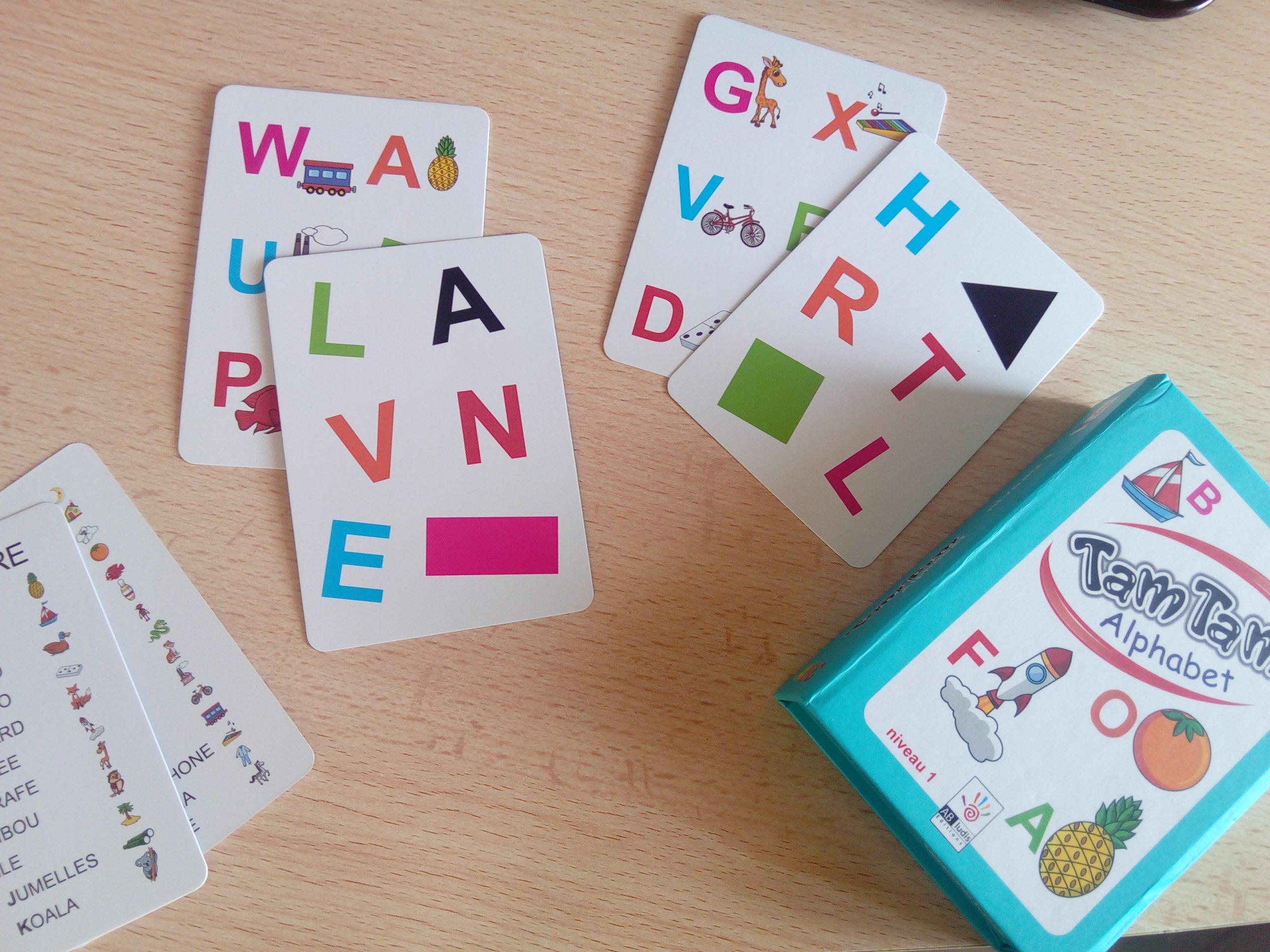 3 Jeux Progressifs Pour Améliorer La Lecture (De 4 Ans À 8 Ans) tout Jeux Pour Apprendre L Alphabet