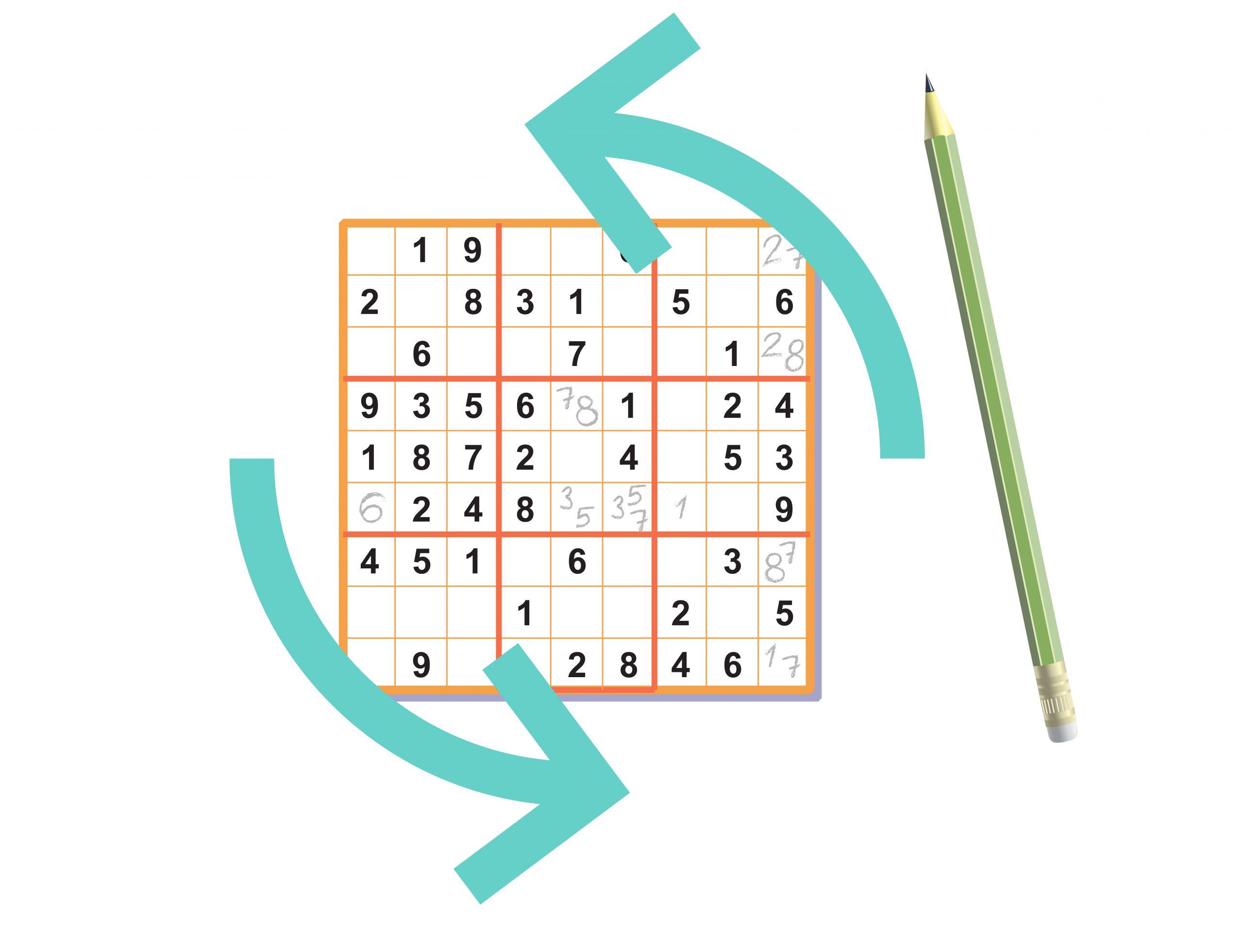 3 Manières De Réussir Un Sudoku - Wikihow destiné Sudoku Lettres À Imprimer