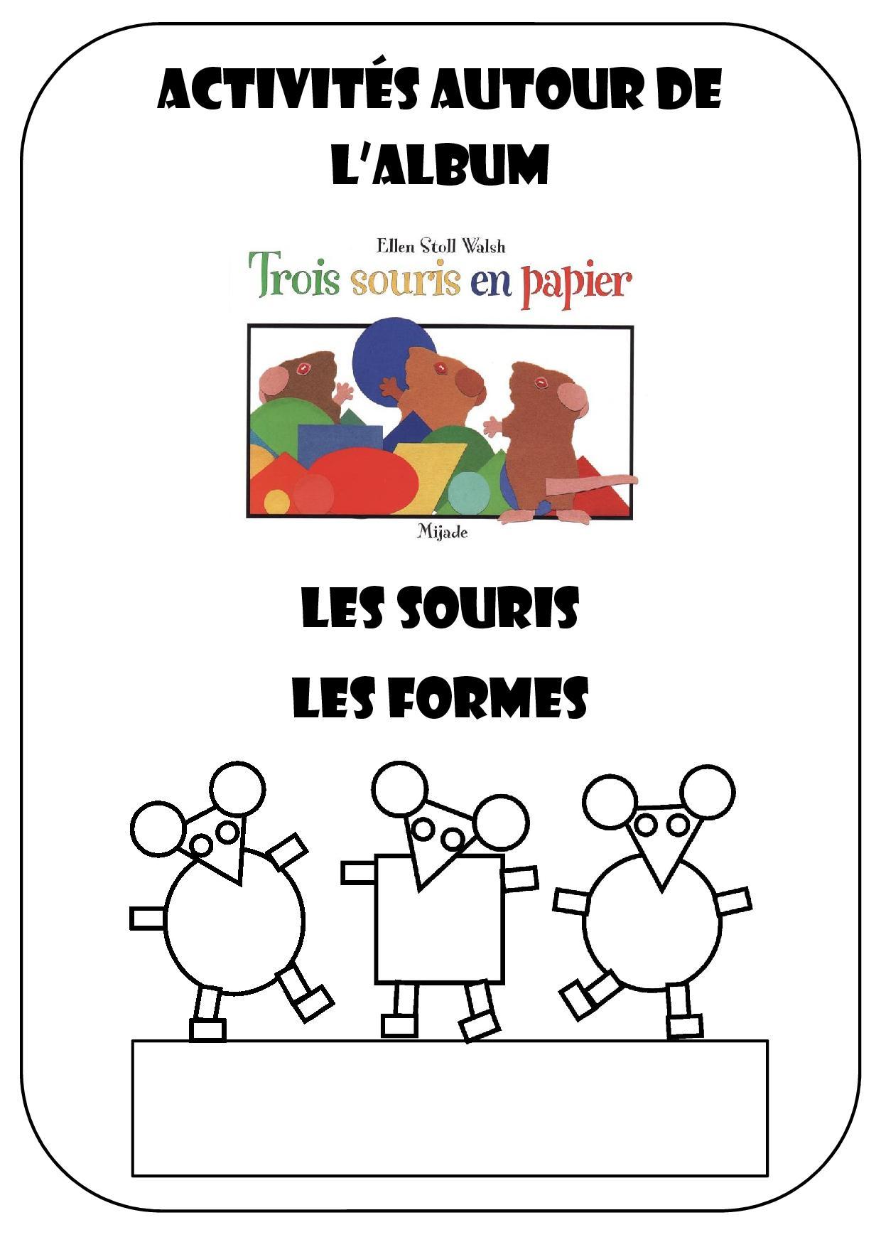 3 Souris En Papier - Chez Camille serapportantà Découpage Collage Maternelle À Imprimer
