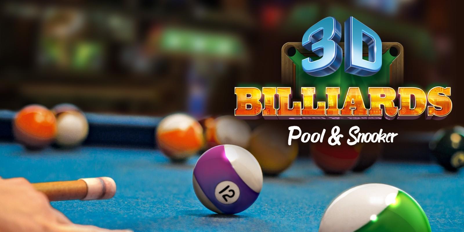 3D Billiards - Pool & Snooker | Nintendo Switch | Jeux tout Jeux Gratuit Billard