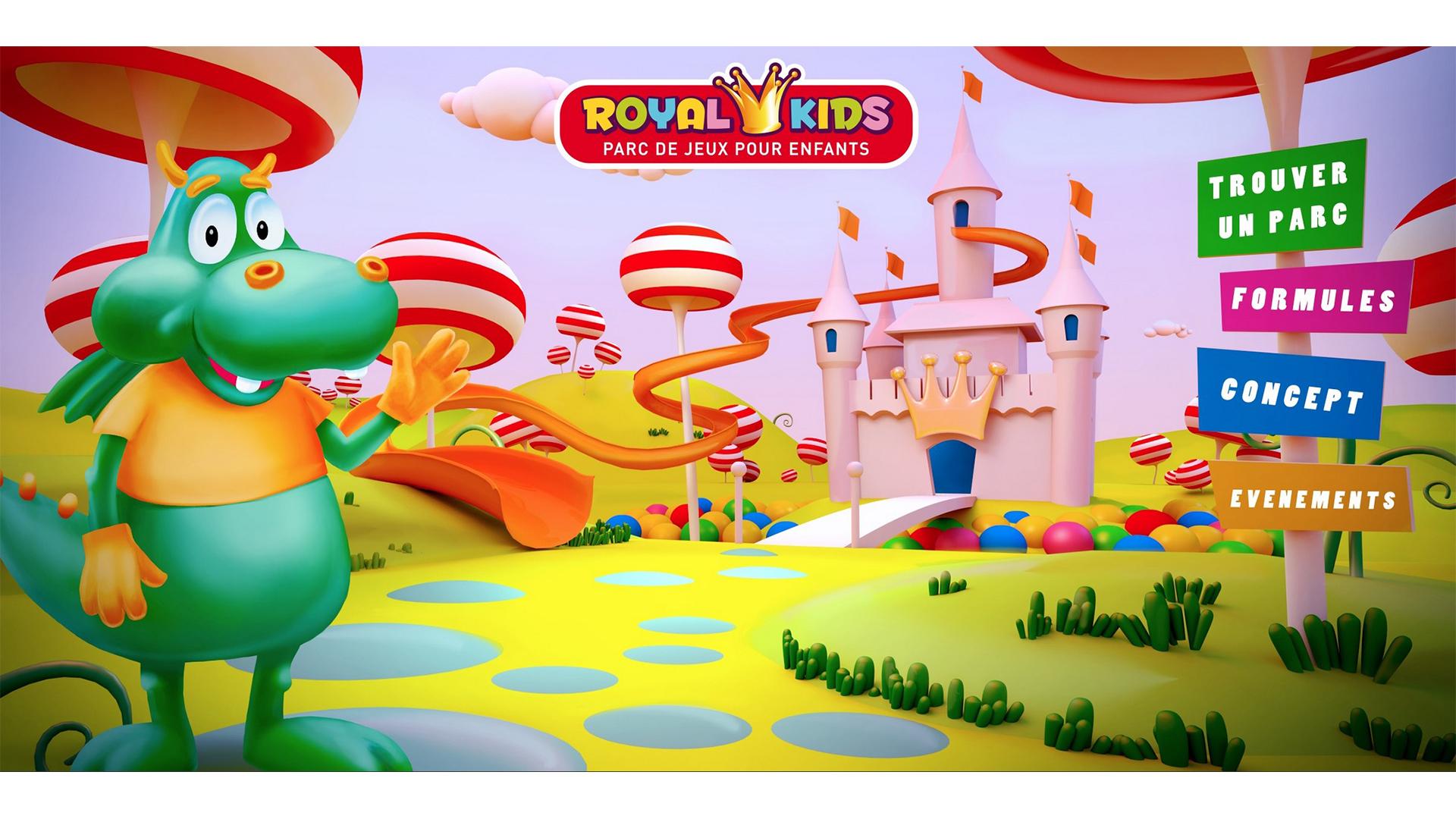 3D Création Royal Kids Parc De Jeux Pour Enfants - Shoot The dedans Jeux Pour Enfan