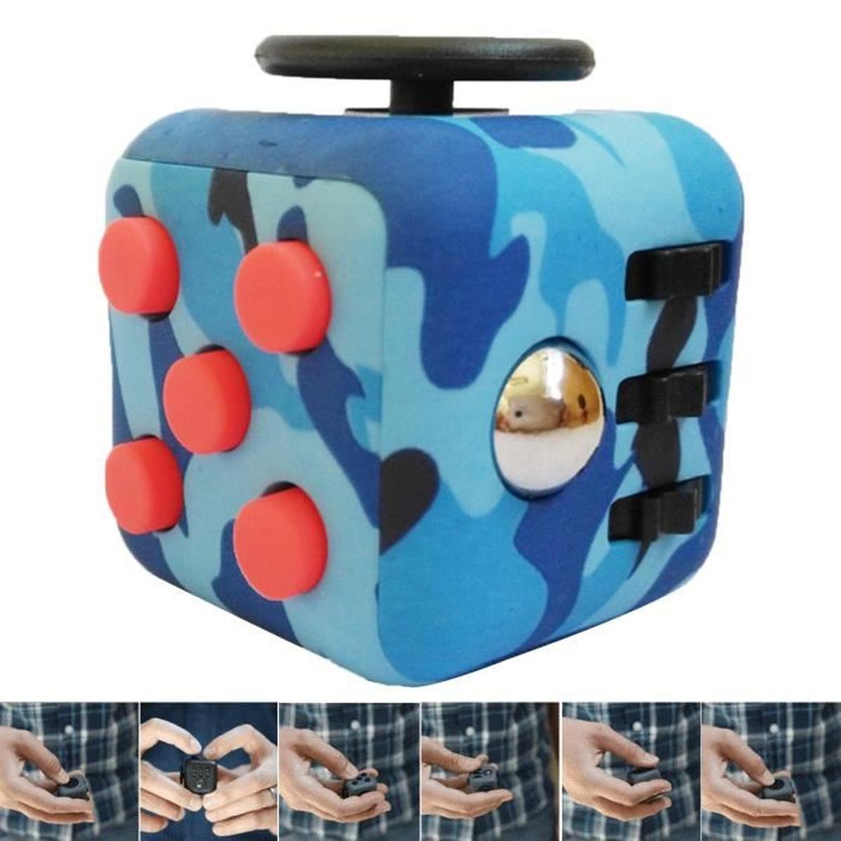 3D Cube Anti Stress Soulagement Jouet Adulte Enfant Adhd intérieur Jeux De Anti Stress