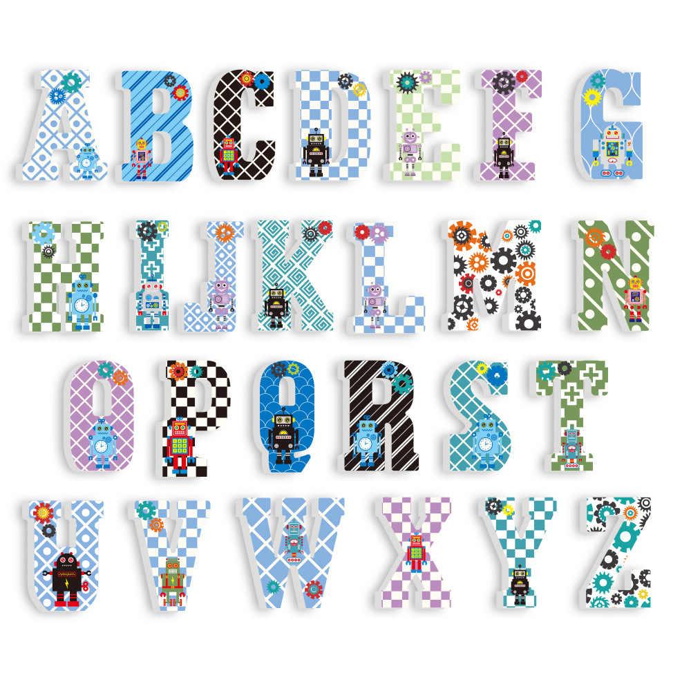 3D Pvc Chambre D'enfant Décoration Lettre Autocollants dedans Jeux Alphabet Maternelle Gratuit