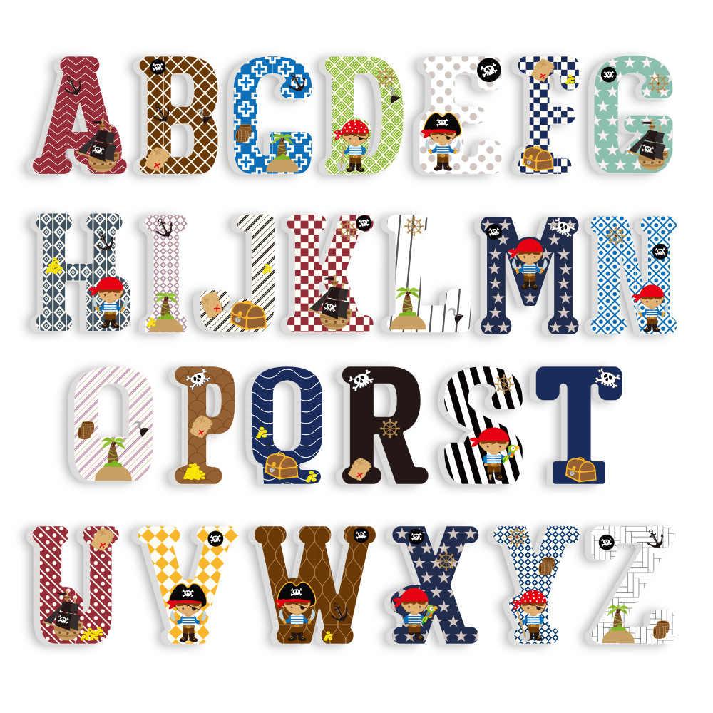 3D Pvc Majuscule Anglais Alphabet Lettre Autocollants Enfant avec Jeux De Lettres Enfants