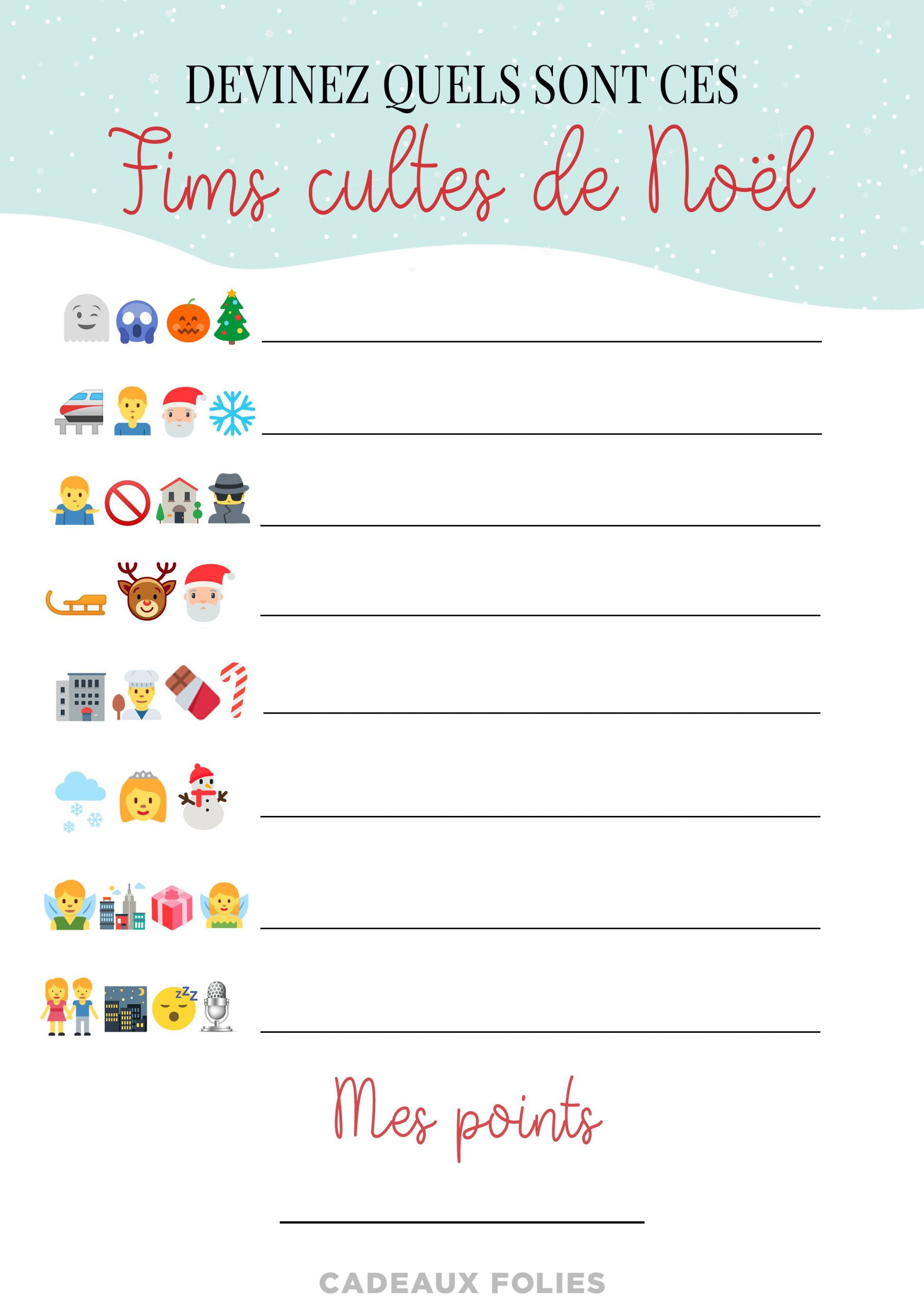 4 Jeux De Noël Pour Petits Et Grands À Imprimer Gratuitement avec Rebus Noel